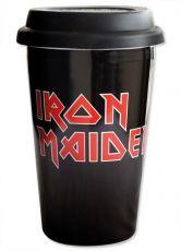 Iron Maiden Cestovní Hrnek Logo