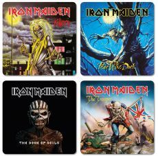 Iron Maiden Podtácky Pack (4)