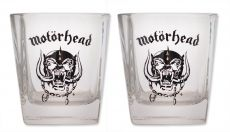 Motorhead Whiskey Shot Glasses 2-Pack
