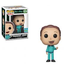 Rick and Morty POP! Animation vinylová Figure Tracksuit Jerry SDCC Exclusive 9 cm