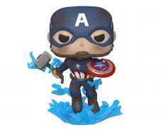 Avengers: Endgame POP! Movies Vinyl Figure Captain America w/Broken Shield & Mj