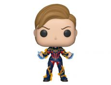 Avengers: Endgame POP! Movies Vinyl Figure Captain Marvel w/New Hair 9 cm