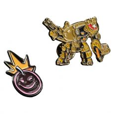 Borderlands Collectors Pins 2-Pack Iron Bear & Borderlands Smiley