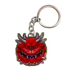 Doom Metal Keychain Cacodemon Limited Edition 4 cm