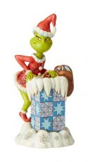 How the Grinch Stole Christmas Soška Grinch Climbing in the Chimney by Jim Shore 23 cm