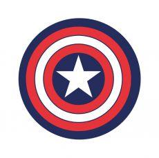 Marvel Koberec Captain America 80 cm