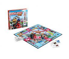 Miraculous: Tales of Ladybug & Cat Noir Board Game Monopoly Junior Francouzská Verze