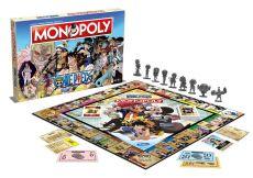 One Piece Board Game Monopoly Francouzská Verze