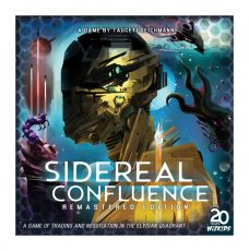 Sidereal Confluence Board Game Remastered Edition Anglická Verze