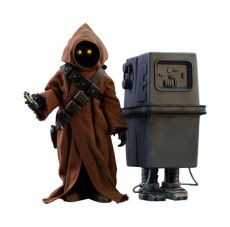 Star Wars Episode IV Movie Masterpiece Akční Figure 2-Pack 1/6 Jawa & EG-6 Power Droid 18-21 cm