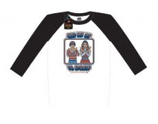 Steven Rhodes Raglan Baseballová Long Sleeve Shirt Just Say No To Sports Velikost M