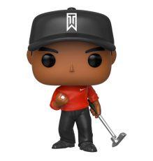 Tiger Woods POP! Golf vinylová Figure Tiger Woods (Red Shirt) 9 cm
