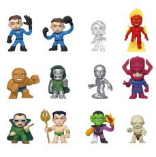 Fantastic Four Mystery Minis vinylová Mini Figures 6 cm Display (12)