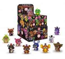 Five Nights at Freddy's Pizza Simulator Mystery Minis vinylová Mini Figures 6 cm (GITD) Display (12)