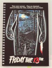 Friday the 13th Poznámkový Blok Movie Plakát