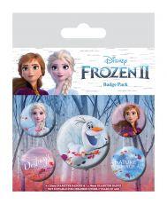 Ledové Království 2 Pin Placky 5-Pack Destiny