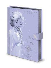 Ledové Království 2 Premium Poznámkový Blok A5 Lilac Snow