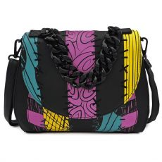 Nightmare before Christmas by Loungefly Kabelka Bag Striped