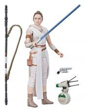 Star Wars Episode IX Black Series Akční Figure 2019 Rey & D-O 15 cm