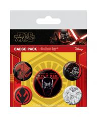 Star Wars Episode IX Pin Placky 5-Pack Sith