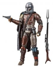Star Wars The Mandalorian Black Series Carbonized Akční Figure The Mandalorian 15 cm