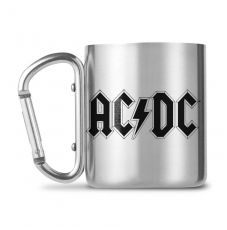 AC/DC Carabiner Hrnek Logo
