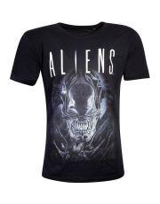 Aliens Tričko Say Cheese Graphic Velikost L