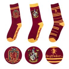 Harry Potter Ponožky 3-Pack Nebelvír