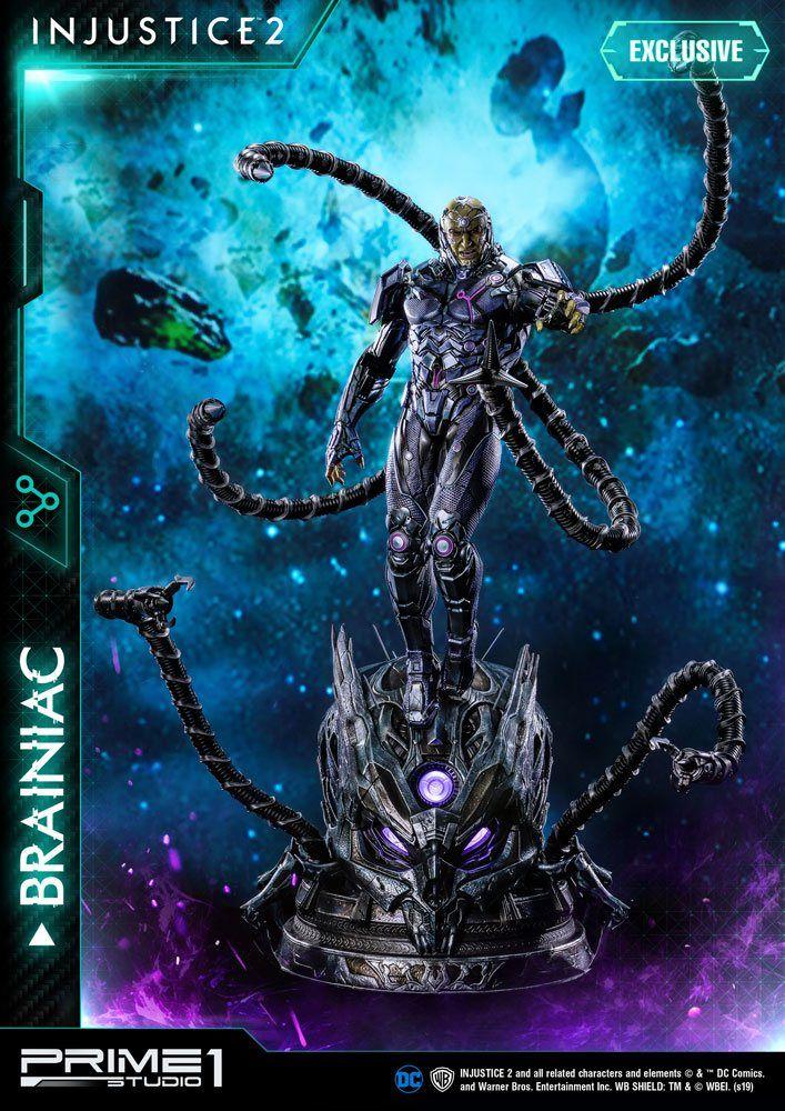 Injustice 2 Sochy 1/4 Brainiac & Brainiac Exclusive 75 cm Sada (3) Prime 1 Studio