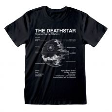 Star Wars Tričko Death Star Sketch Velikost S