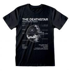 Star Wars Tričko Death Star Sketch Velikost XL