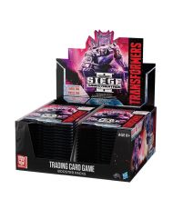 Transformers TCG Booster War for Cybertron Siege II Display (30) Anglická