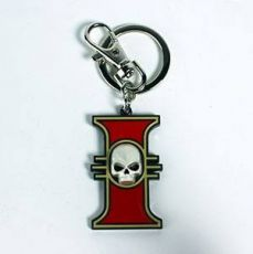 Warhammer 40K Metal Keychain Inquisition Emblem