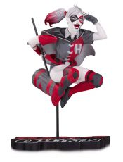 DC Comics Red, White & Black Soška Harley Quinn by Guillem March 18 cm