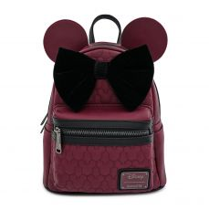 Disney by Loungefly Batoh Dark Red Mickey Mouse