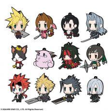 Final Fantasy Gumový Charms 7 cm Sada FF VII Extended Edition (12)