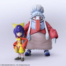 Final Fantasy IX Bring Arts Akční Figures Eiko Carol & Quina Quen 9 - 14 cm