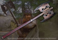 Lord of the Rings Replika 1/1 The Gimli Axe Noble Collection
