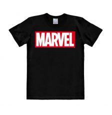 Marvel Easy Fit Tričko Box Logo Velikost S