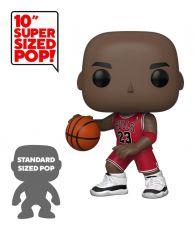 NBA Super Sized POP! vinylová Figure Michael Jordan (Red Jersey) 25 cm