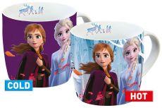 Ledové Království 2 Heat Měnící Hrnek Elsa & Anna
