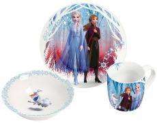 Ledové Království 2 Snídaňové nádobí Set Elsa & Anna