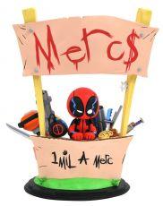 Marvel Animated Soška Deadpool Merc For Hire 20 cm