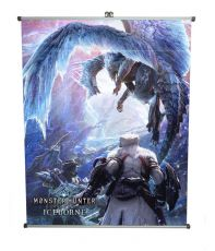 Monster Hunter: World Plátno Iceborne 60 x 71 cm