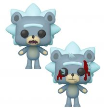 Rick and Morty POP! Animation Figures Teddy Rick 9 cm Sada (6)