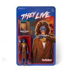 They Live ReAction Akční Figure Female Ghoul 10 cm