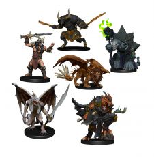 D&D Icons of the Realms Miniatures Descent into Avernus: Arkhan the Cruel and The Dark Order