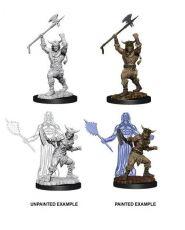 D&D Nolzur's Marvelous Miniatures Unpainted Miniatures Male Human Barbarian Case (6)