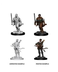 D&D Nolzur's Marvelous Miniatures Unpainted Miniatures Male Human Ranger Case (6)