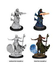 D&D Nolzur's Marvelous Miniatures Unpainted Miniatures Female Human Wizard Case (6)